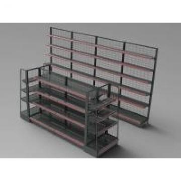 Custom Height Supermarket Display Racks Double Sides Department Store Snacks