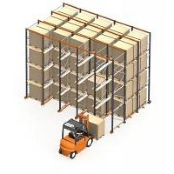 High Storage Drive In Metal Pallet Rack with Rigidity Aisle for Tobacco Industry