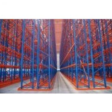 First In First Out Drive Through Pallet Rack Frozen Meat Warehouse Storage