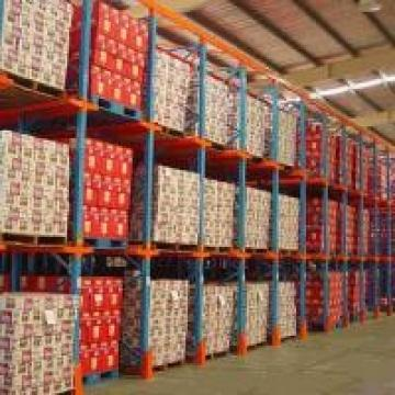 Seed Cold Room Accessed By Forklifts Bulk Storage Racks / Drive In Pallet Racks