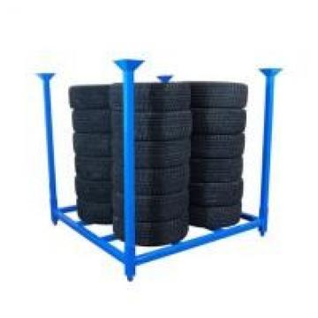 Galvanized Treatment Metal Stacking Pallets Blue Color / Industrial Stacking
