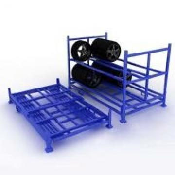 Multi - Functional Powder Coated Surface Metal Pallet Shelving For Tyre Stacking