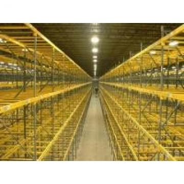 Custom Selective Pallet Racking Systems / Fixed Steel Frame Storage Shelves