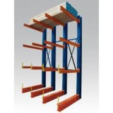 Lumber Cantilever High Loading Capacity Heavy Duty Storage Racks Cantilevered