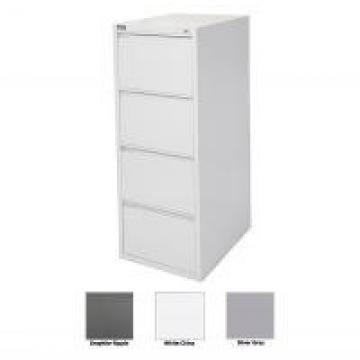 Space - Saving 4 Hanging File Archive Cabinet Carbon Steel Standard Size