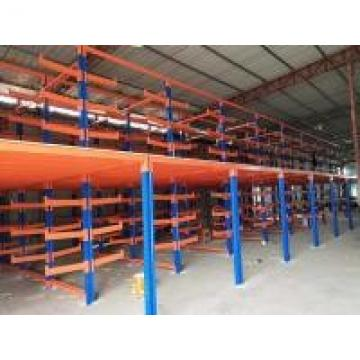 Steel Structure Cantilever Heavy Duty Metal Rack With Vertical Column