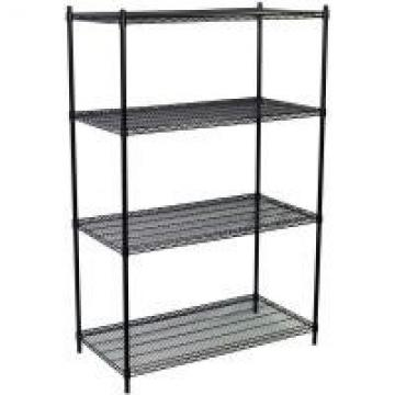 Adjustable Open Commercial Wire Shelving Unit Environment 4 Layers
