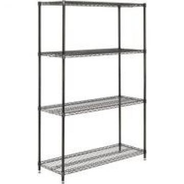 Freestanding Commercial Wire Shelving Rack Epoxy Powder Coating