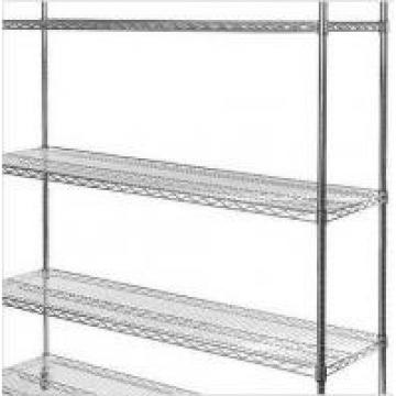 5 Tiers Durable Commercial Wire Shelving Unit With Castors For Snacks Storage