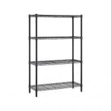 """Multipurpose Home Organized Display Rack 4 Tier Wire Shelving 14""""D X 36""""W"""