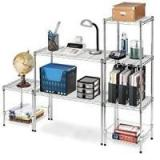 Carbon Steel Or SS 304 Home Wire Shelving TV Stands Modular Units For Household