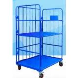Corrosion Resistant Movable Wire Shelving With Casters For Logistics and