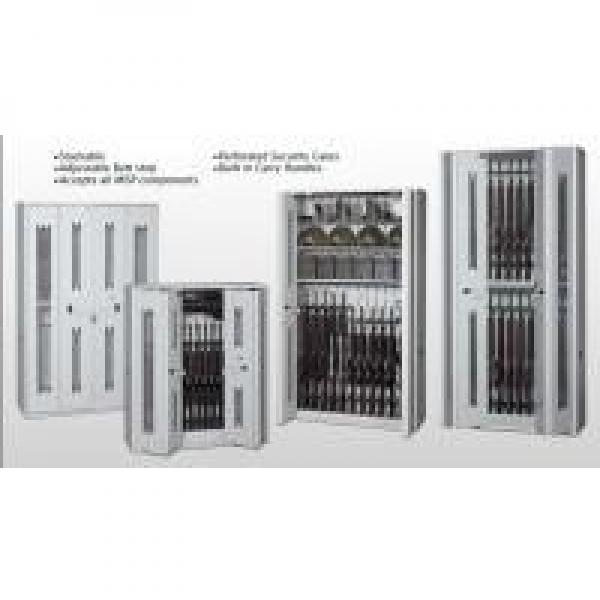 Heavy Duty Wall Cabinets With Perforated Security Gates , Military Weapons #1 image