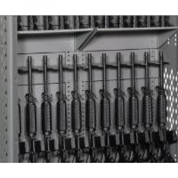 Heavy Duty Wall Cabinets With Perforated Security Gates , Military Weapons #2 image